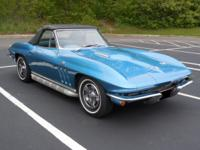 1966 Corvette L72 427 V8 Convertible Manual.  1966