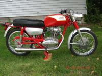 1966 Ducati 250cc single bevel drive. Complete rebuilt