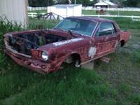 1966 Ford Mustang body for sale. Will work excellent