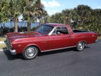 1966 Deluxe Ford Ranchero -289 V-8 High Output