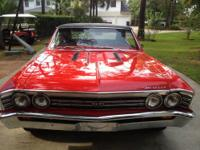 This 1966 Chevelle SS 396. It is a 13817 Matching