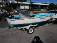 Right here is a classic 1967 Boston Whaler Standard 13'