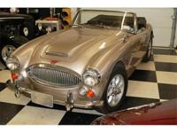 1967 Austin Healey 3000 Mark III Phase 2. Car number: