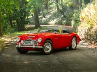 The Austin Healey 3000 MKIIIs are some of the most