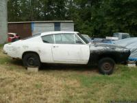 Up for sale is a 1967 Plymouth Barracuda Fastback body