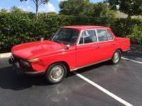 A true BMW Neue Klasse sedan, this 1967 2000 tilux is a