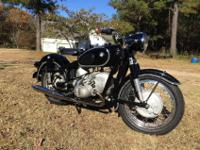 1967 BMW R50/2. This bike has been fully brought back