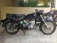 1967 BMW R60/2 BlackFor a faster respond please reply