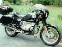 1967 BMW R60/2 Features: Earls Forks Over sized Fuel