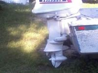 1967 Evinrude 33 Hp motor in very good condition and it