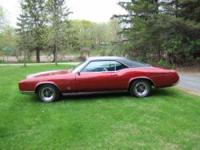 1967 Buick Riviera in Excellent Condition Burgundy
