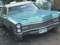 1967 Cadillac Convertible, unusual, unrestored, 429