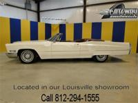 1967 Cadillac DeVille Convertible in classic white