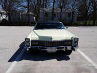 1967 Cadillac Deville Convertible Every single light