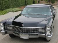 Here is the 1967 Cadillac model 75 Fleetwood in the
