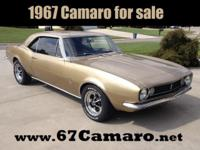 For Sale by Owner 1967 CAMARO with A/C, Power Steering,