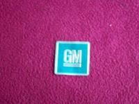 this is a stock 67 gm door plate that came from a 67