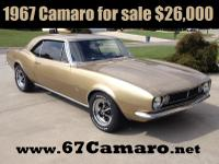 For Sale by Owner 1967 CAMARO with Vintage Air, Power