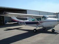 1967 Cessna 182 , 0-470 Continental , Total airframe