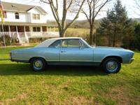 1967 Chevelle Malibu 52,766 ORIGINAL MILES FACTORY TWO