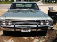 67 Chevelle Malibu SS Clone with 396CID 3 speed auto