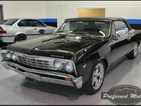 This is a just recently completed 1967 Chevelle Malibu