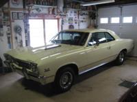 1967 CHEVELLE SS 138 CAR, 396/350 HP [CE block] 3RD