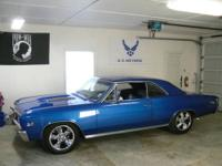1967 Chevelle SS, new 477 BBC, built 350 auto, 2200