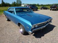Check out this rare numbers matching Chevelle SS - a