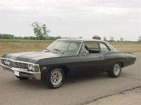 1967 Biscayne 2 door post. Absolute rustfree car with