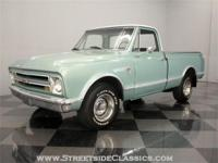 This 1967 Chevrolet C10 pickup boasts just three owners