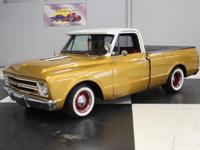 Stk#024 1967 Chevy C10 Pickup-Shortbed Painted Inca
