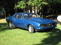 1967 Chevrolet Camaro  Mile Drag Car Complete ~ Ready