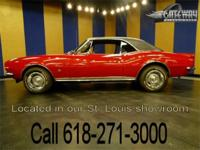 1967 Chevrolet Camaro for sale! This is a very clean,