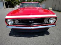1967 CAMARO GREAT DRIVING CAR, NO RUST, ALL SOLID