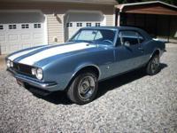 1967 Camaro, Restored Car, Matching Numbers, 327