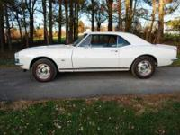 1967 Chevrolet Camaro RS in 1967 mint condition Under