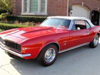 1967 Chevrolet Camaro RS Convertible. This is a very