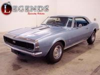 NUMBERS MATCHING 1967 CHEVROLET CAMARO RS/SS350Stock #