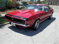 1967 Chevrolet Camaro for Sale. 396 cubic inch V8,