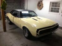 Selling 1967 Camaro RS/SS. This car is all numbers