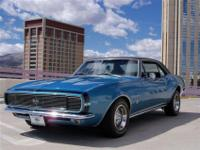 This 1967 Chevrolet Camaro 2dr RS SS Coupe showcases a