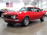 Gr Auto Gallery presents a 1967 Chevrolet Camaro 396