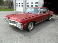 1967 CHEVY CAPRICE SPORT COUPE WITH ORIGINAL MATCHING