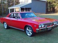 This Beautiful 1967 Chevelle Real SS 138 Car, frame off