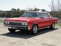 1967 CHEVROLET CHEVELLE SS CONVERTIBLE. THIS CHEVELLE