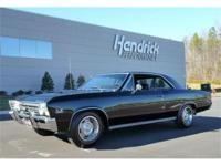 This 1967 Chevrolet Chevelle SS features a 396 V8