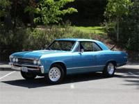 This 67 Chevelle is the recipient of a frame-off