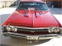 1967 Chevelle SS Clone, 454 Engine with mild comp cam,