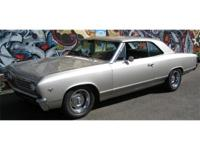 1967 Chevrolet Chevelle Restomod. Originally a two